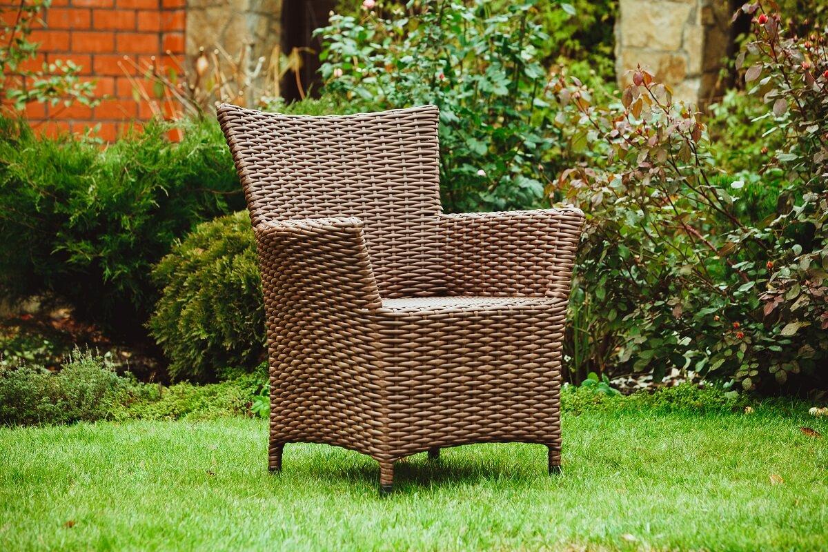Кресло из искусственного ротанга Комфорт